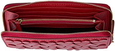 Marc Jacobs Stitched Hearts Standard Continental Wallet Wallet