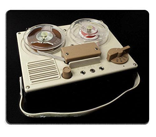MSD Natural Rubber Mousepad IMAGE 21317377 a small vintage reel to reel tape recorder