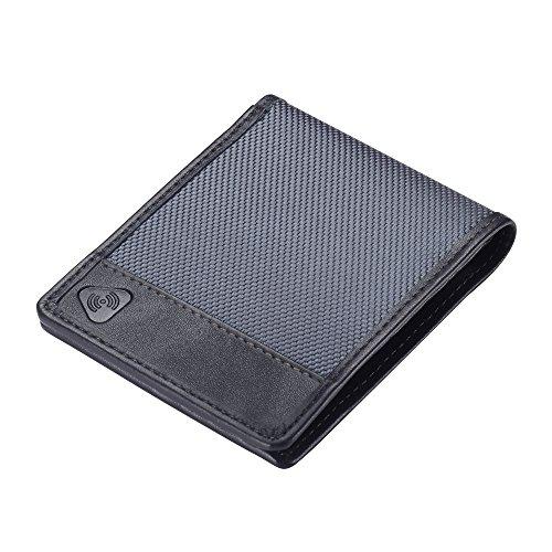 Lewis N Clark Ballistic RFID Bifold Wallet, Smoke, One Size