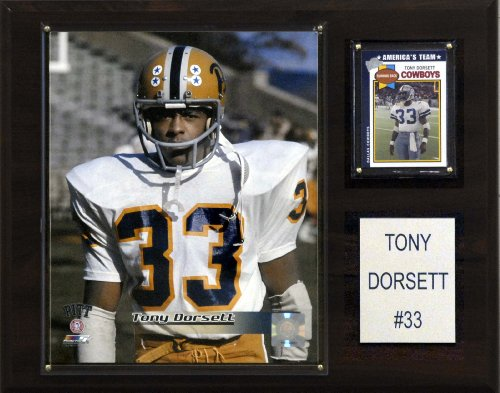 NCAA Football Tony Dorsett Pittsburgh Panthers Player Plaque