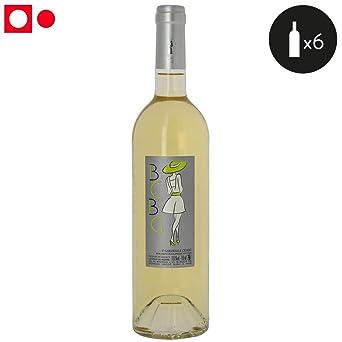 6 Bouteilles Vignoble Bcbg Bcbg Blanc Saint Guilhem Le