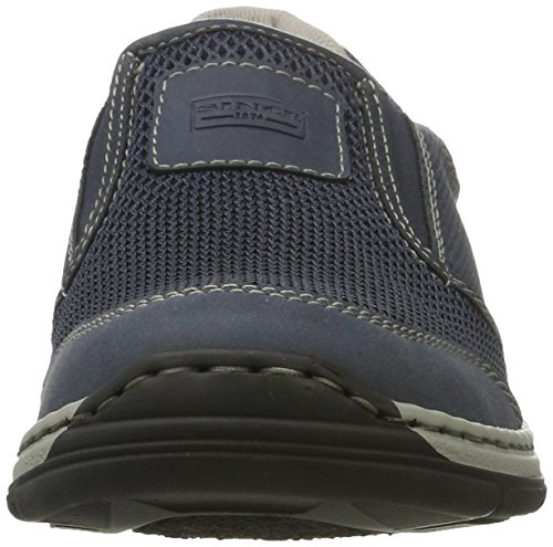 14 Men's 6 Atlantis 5 Grey Rieker 15253 Loafers Blue UK Chalk 14 Denim Oxqnw1U
