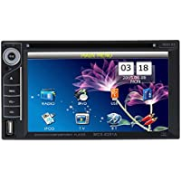 Docooler Universal UI Disign 6.2 Inch Double Din Car DVD/USB/SD Player HD Multimedia Bluetooth Radio Entertainment