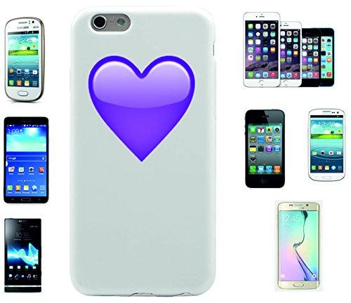 """Smartphone Case Apple IPhone 7+ Plus """"Purpurnes Herz"""", der wohl schönste Smartphone Schutz aller Zeiten."""