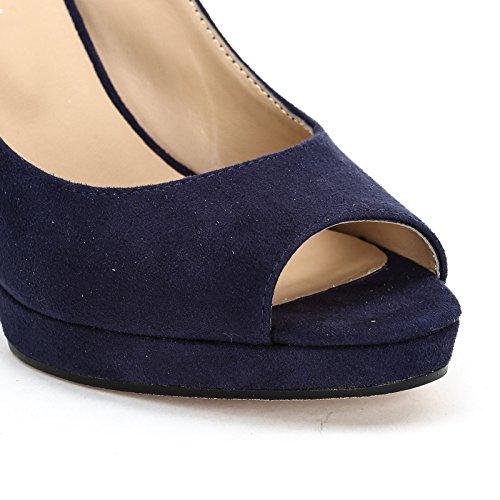 Blue Estradà amp;Scarpe Scarpe Alti by Donna Sandali Spp1gYaq