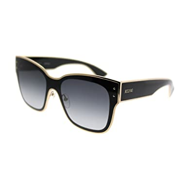 6efb33887 Sunglasses Moschino Mos 0 /S 0807 Black / 9O dark gray gradient lens ...