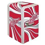 Boelter Brands NHL Detroit Red Wings Portable Party Fridge, 15 Quarts