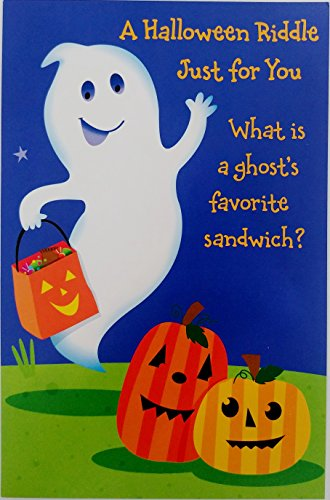 Halloween Riddle For Adults (A Halloween Riddle Just for You - Greeting Card Funny / Humor)