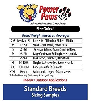 Woodrow Wear Power Paws Advanced Greyhound Large Black/Grey by Woodrow Wear