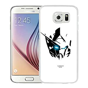 Gundam 7 White Newest Custom Design Samsung Galaxy S6 G9200 Phone Case
