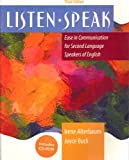img - for Listenspeak: Ease in Communication for Second Language Speakers of English by Irene Alterbaum (2003-01-30) book / textbook / text book