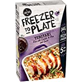 The Good Table Freezer to Plate Teriyaki Rice & Sauce, 10.2 oz