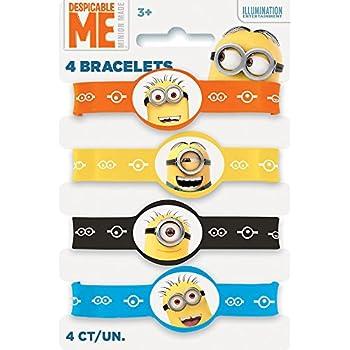 Amazon.com: Despicable Me Minions Silicone Wristband Party ...