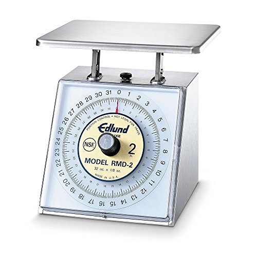Edlund Four Star Series Deluxe Stainless Steel Portion Scale, 32 Ounce x 1/8 Ounce - 1 each.