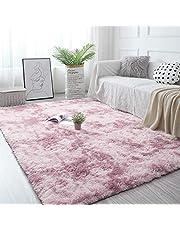 Pauwer Shaggy gebied tapijten zacht pluizig gebied tapijt tapijten anti-Skid pluizig dik gebied tapijt vloer tapijt mat