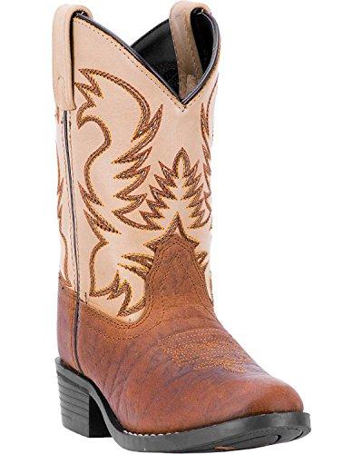- Dan Post Boys' Rust Buckeye Boot Round Toe Rust Copper 8.5 D