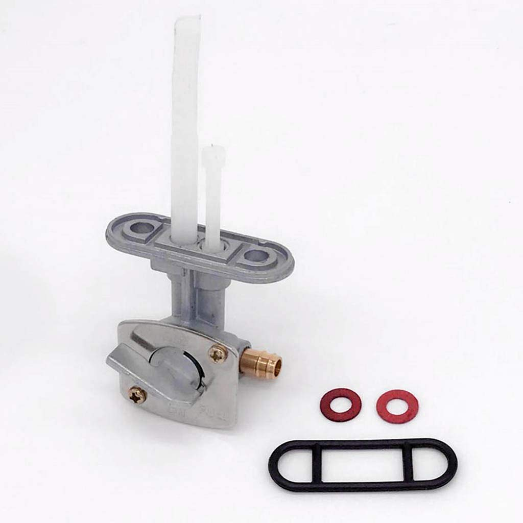 Flameer Motorcycle Gas Fuel Tank Petcock Valve Assembly for Suzuki LT50 LTZ50