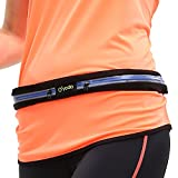 Yodo Sports Running Waist Pack,Outdoor Sweatproof Reflective Runner Belt for iPhone, Samsung Edge / Note / Galaxy – Men, Women during Fitness, Running, Cycling, Hiking, Travel, Workout,Blue