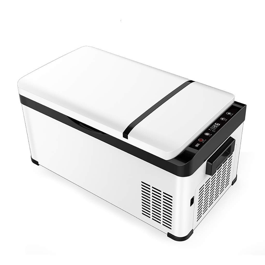 Lllcxus Car Refrigerator Compressor 26L, Shockproof Refrigerated LCD Small Mini Freezer with Phone (Size : Car[DC]) by Lllcxus