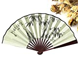 Sandalwood Vintage Chinese Folding Hand Fan For Men Home Decoration Accessories Decoracion Gifts