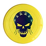 VOLTE Suicide Film Squad Task Comic Force X Character Logo Yellow Flying-discs 150 Grams Outdoor Activities Frisbee Star Concert Dog Pet Toys
