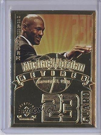 93ec7c9407596 Amazon.com: Michael Jordan #3182/9,923 (Basketball Card) 1999 Upper ...