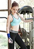 Fittin Womens Padded Sports Bras Wire Free with