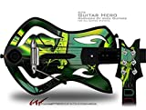 Release Decal Style Skin - fits Warriors Of Rock Guitar Hero Guitar (GUITAR NOT INCLUDED)