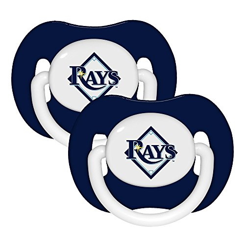 MLB Tampa Bay Rays Pacifiers, 2-Pack