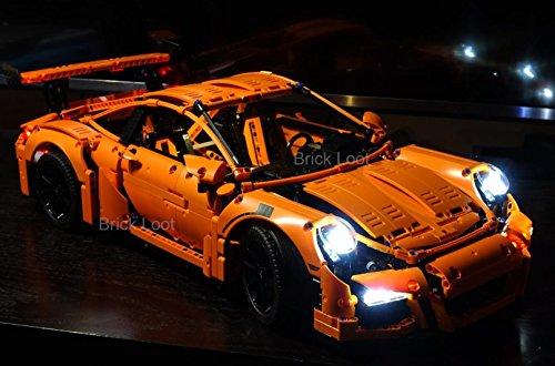 Amazon.com: Porsche 911 GT3 RS Lighting Kit for LEGO 42056 Set (LEGO ...