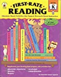 img - for First-Rate Reading: Literature-Based Activities that Support Research-Based Instruction : Grade K by Elizabeth Aguerre Suarez (2004-01-02) book / textbook / text book