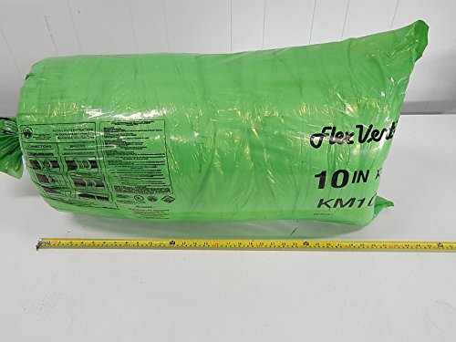 (Thermaflex KM R6 KM10B60 Insulated Flexible Air HVAC Duct 10 in x 25 ft)