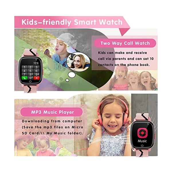 Features Camera. SOS Alarm. Clock Calculator 12/24 and more  Smart Tickers