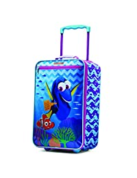 American Tourister Disney Girls Softside Upright 18-Inch, Finding Dory, International Carry-On