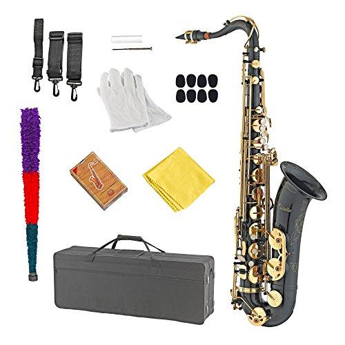 Estella TS200BG Black & Gold Lacquer B Flat Tenor Saxophone by Estella