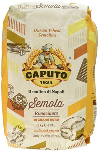 Caputo Semola di Grano Duro, 1 Kg (Pack of 2)