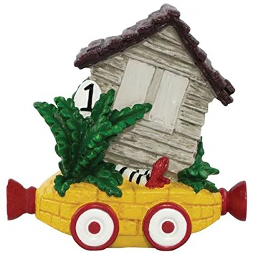 WL SS-WL-17194 Wicked Witch of West Legs Under House Birthday Train Figurine, 2.75