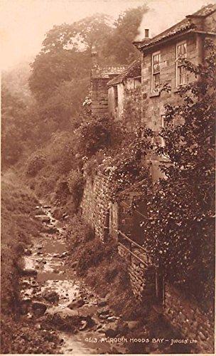 (At Robin Hoods Bay Judges United Kingdom, Great Britain, England Postcard)