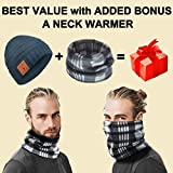 Bluetooth Beanie Hat Headphones Caps Novelty