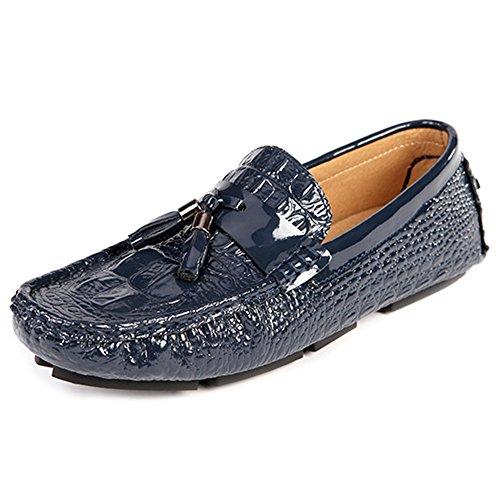 Uomo Mocassini Footwear MERRYHE Deck Moda Da Mocassini Casual On Blue Slip Barca Driving Mocassini Da Luminosi Shoe ZFwd1qYw