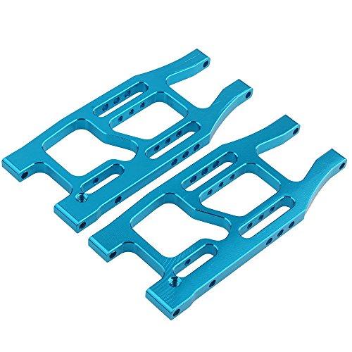 Suspension Alum - Toyoutdoorparts RC BMT0005 Blue Alum Rear Lower Suspension Arm 2P for HPI Bullet 3.0 ST/MT