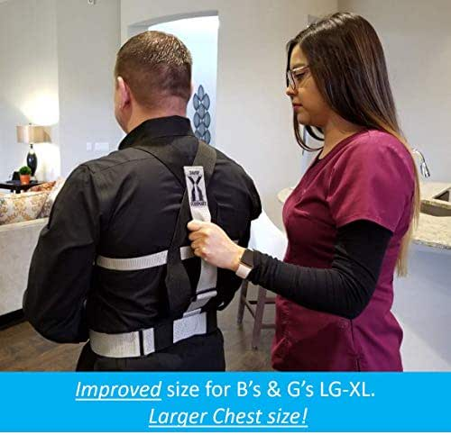 Drop Support Harness - Aiding in Patient Fall Prevention & Balance & Stability. for Epilepsy, Parkinson's, Elderly Care and More. Beneficial for PT/OT's. Increasing Patient Safety Over gait Belts.