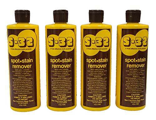 S-32 Spot Stain Remover, Safely Removes Stubborn Spots and S