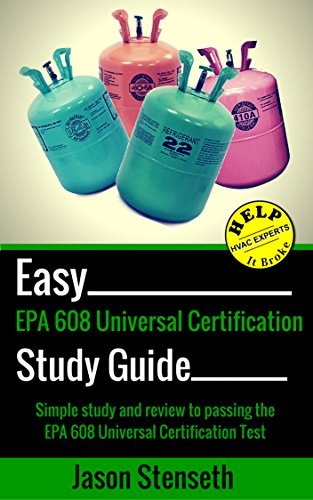 study guide for epa 608 universal certification simple study and rh amazon com american trainco epa 608 certification study guide Examples Study Guide