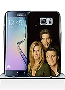 Aesthetic Friends Galaxy S6 Edge Plus Funda Case, Pink Drop Protection High Impact Fit For Samsung Galaxy S6 Edge Plus(just for S6 Edge Plus)