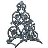 vintage floral imports - Import Wholesales Floral & Spade Wall Garden Hose Holder Hanger Verdigris Cast Iron 13.25