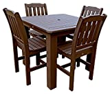 Cheap Phat Tommy Outdoor Recycled Poly Highwood Lehigh Square Dining Set