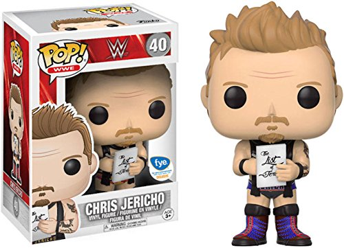 Pop Machine Costume (Funko POP Chris Jericho FYE Exclusive #40 Purple Costume Variant WWE)