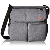 Skip Hop Dash Signature Messenger Diaper Bag, Heather Grey