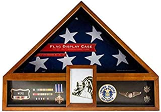 product image for Military Veteran Flag and Medal Display Case - Shadow Box